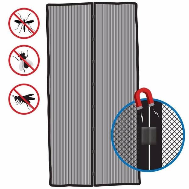 Anti vliegen deur horren met magneetsluiting - opzet deurhorren - 210 x 50 cm