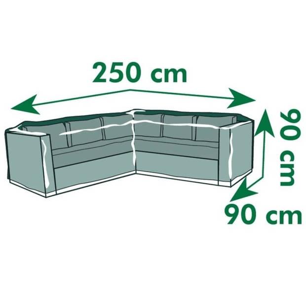 Afdekhoes/beschermhoes loungebank 90 x 90 x 250 cm - Afdekhoezen/beschermhoezen - Tuinmeubelhoes - Loungebankbescherming