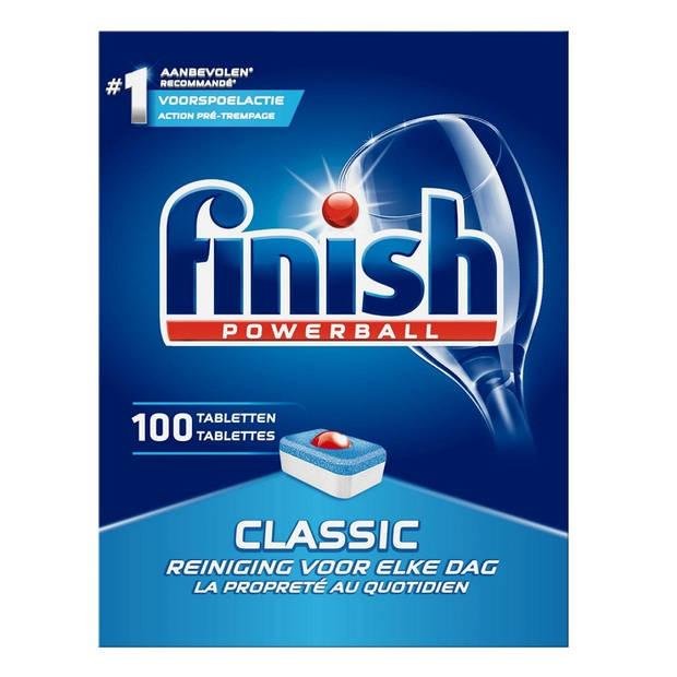 Finish Classic Vaatwastabletten - 100 tabletten