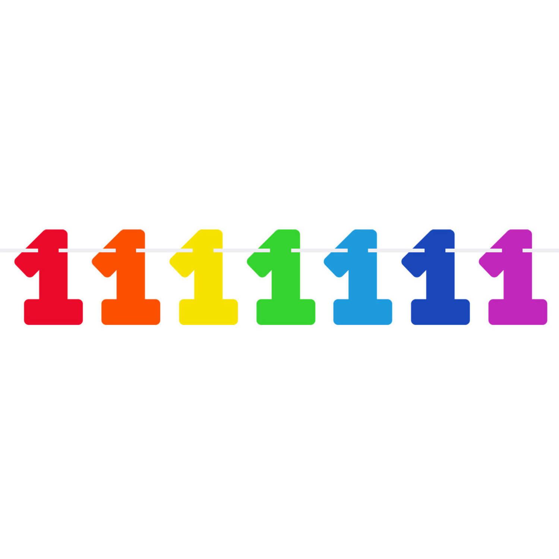 Folat Vlaggenlijn Cijfer 0 Junior 6 Meter Karton online kopen