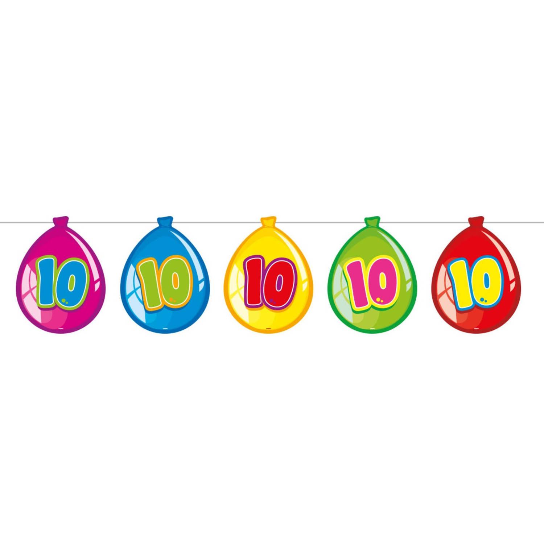 Folat Slinger Ballonnen 10 Jaar Junior 10 Meter Karton online kopen
