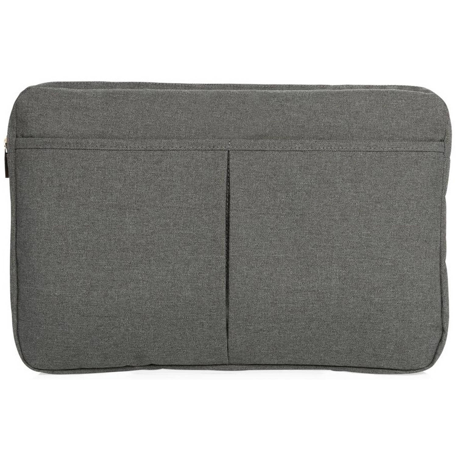 Korting Xd Collection Laptop Hoes 15 Inch Polyester Antraciet