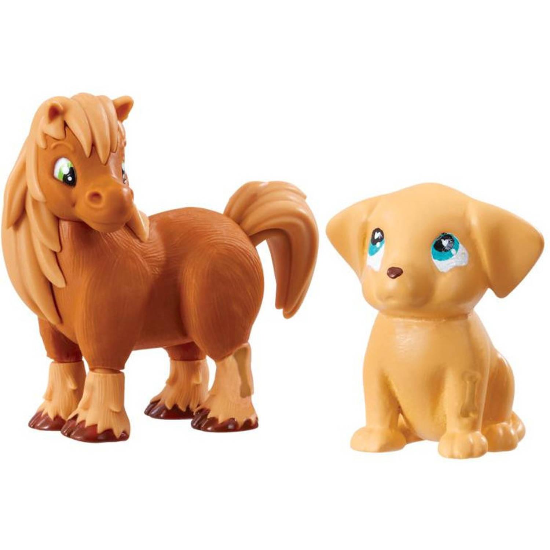 Goliath speelset Vet Squad hond junior bruin 2 delig