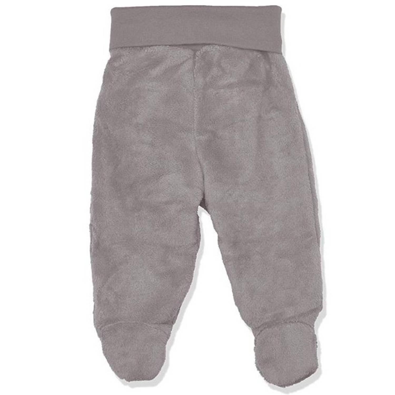 Korting Playshoes fleecebroek met voetjes junior grijs