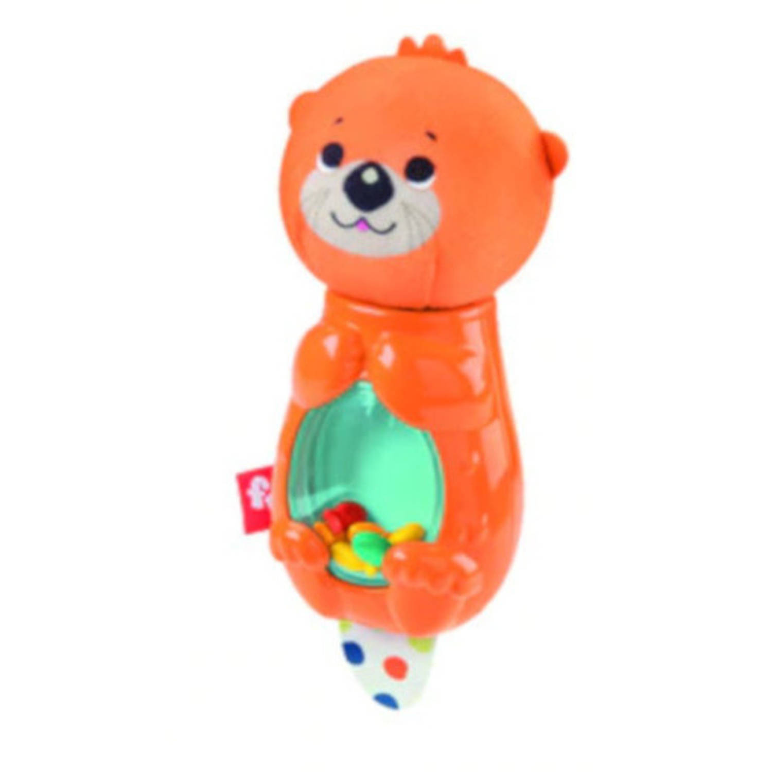 Fisher-price Rammelaar Hungry Otter Junior Bruin/multicolor