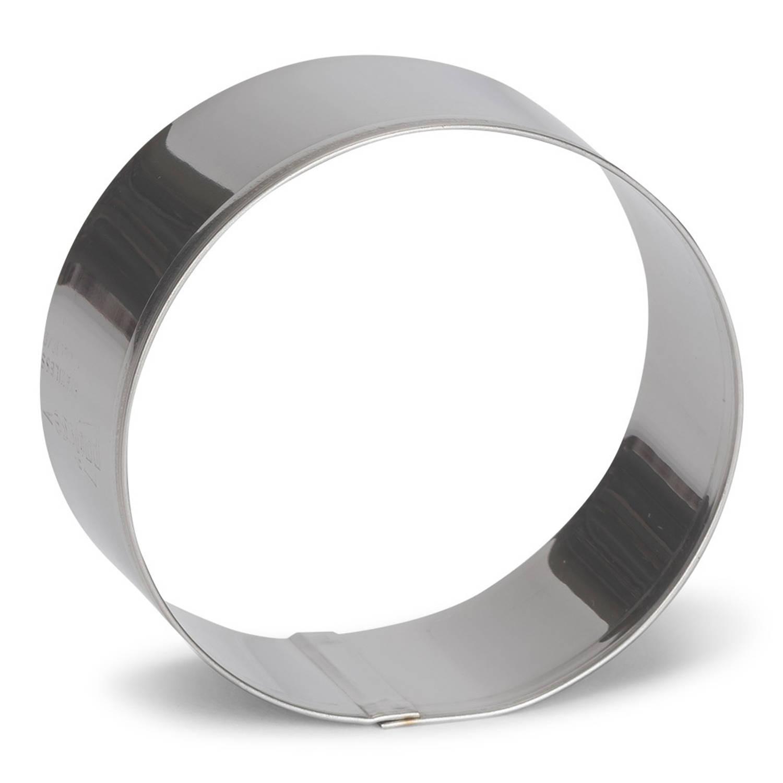 Korting Patisse Uitsteekvorm Cirkel 8 Cm Rvs Zilver