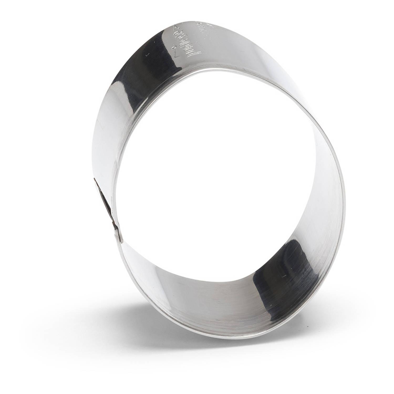 Korting Patisse Uitsteekvorm Ei 6 Cm Rvs Zilver