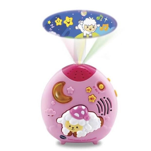 VTECH BABY - Nachtlampje Lumi schapen nachtmagie roze