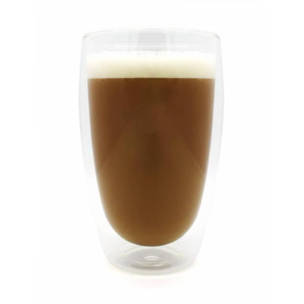 JAP Dubbelwandig Glas - Theeglazen - Koffieglazen - Vaatwasserbestendig - 450ml