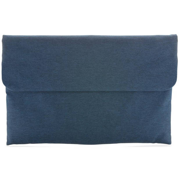 XD Collection laptophoes sleeve 15.6 inch polyester blauw