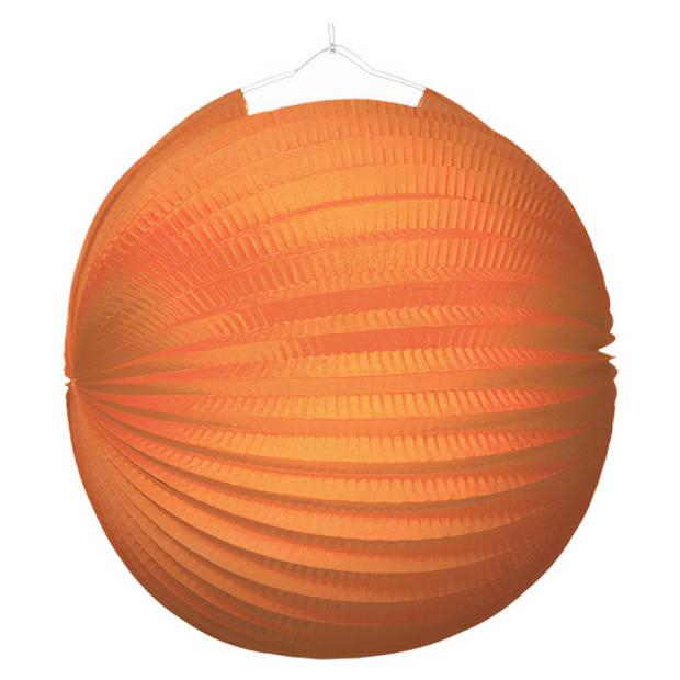 Amscan lantaarn junior 25 cm papier oranje