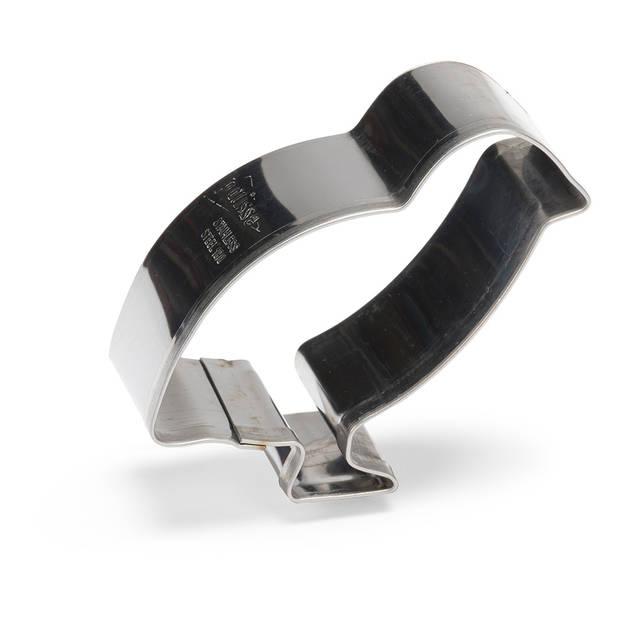 Patisse uitsteekvorm Kuiken 7 cm RVS zilver