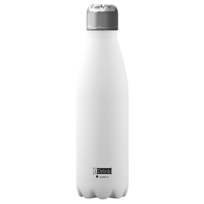 Image of I-drink Drinkfles 650 Ml Rvs Wit