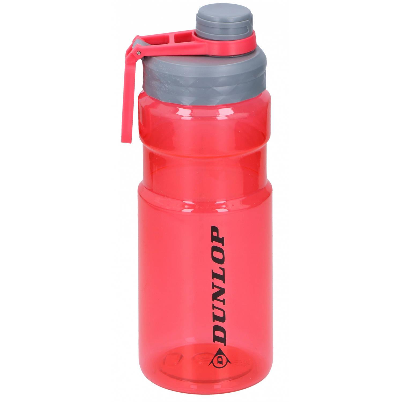 Dunlop Drinkfles 1.1 Liter Polyetheen 24.5 Cm Grijs/rood