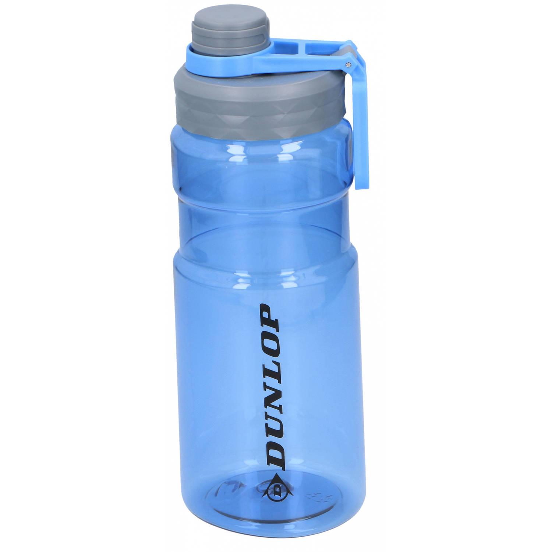 Dunlop Drinkfles 1.1 Liter Polyetheen 24.5 Cm Grijs/blauw