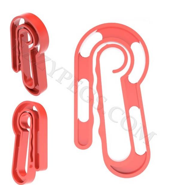 EzzyPegs Sterke Wasknijpers Kunststof Multifunctionele Knijpers 48 Stuks Speciaal Ontwikkeld voor Ouderen