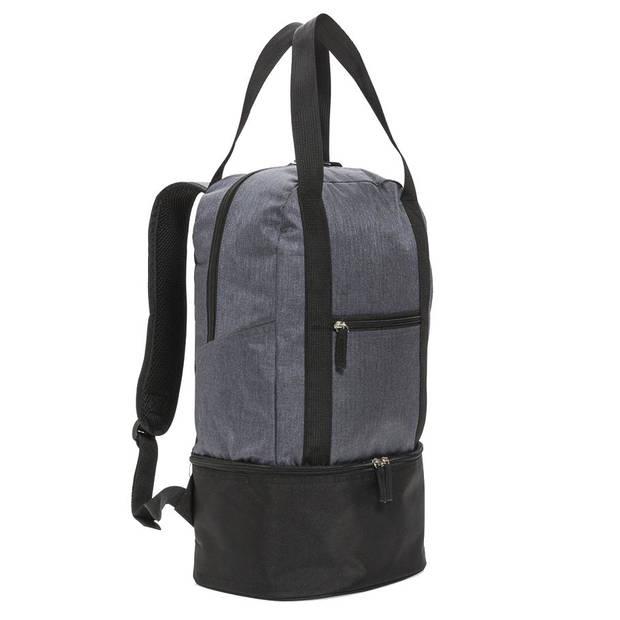 XD Collection koelrugzak 20 liter polyester/EVA grijs/zwart