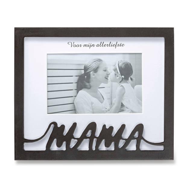 Blokker fotolijst Mama - zwart
