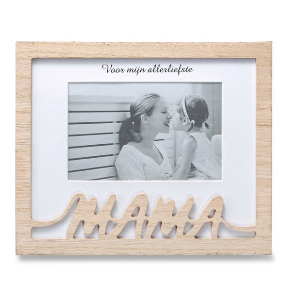 Blokker fotolijst Mama - hout