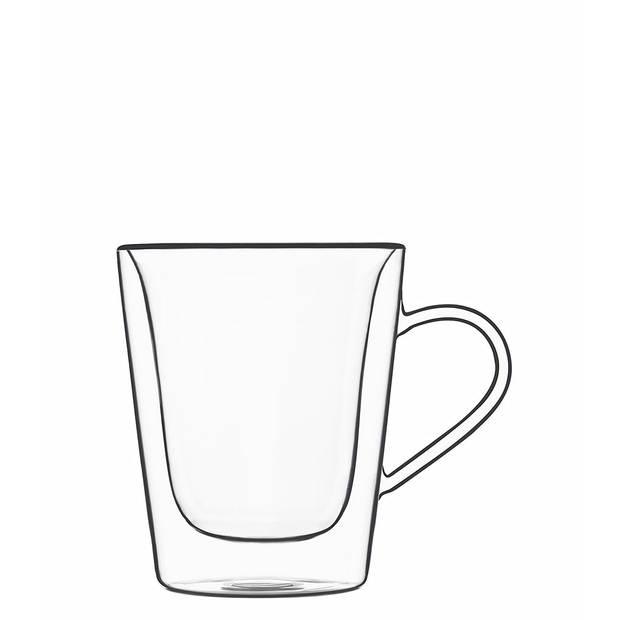 Bormioli Luigi - Thermic glass drink - 2 Koffie- en thee mug