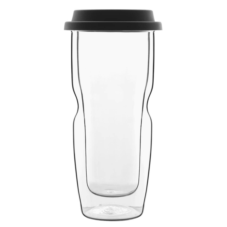 Bormioli Luigi - Thermic Glass Drink - Beker Large Coffee On The Go