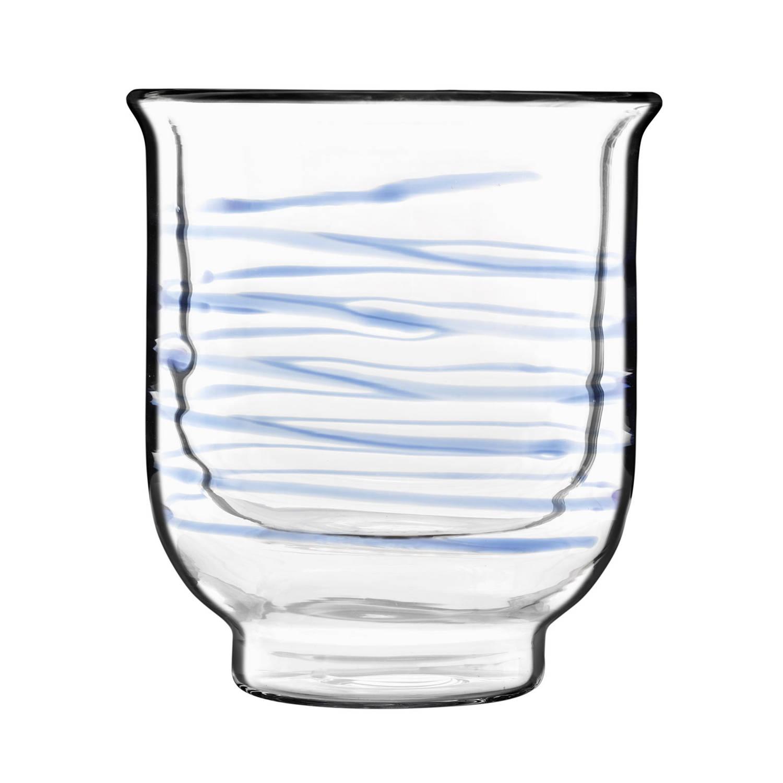 Bormioli Luigi - Thermic Glass Drink - 2 Beker Asagao Thee Blauw