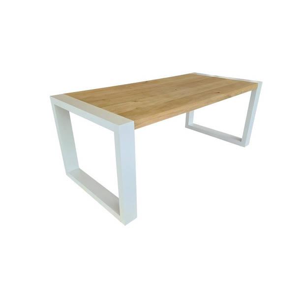 Wood4you - Eettafel New Jersey Eikenhout 190Lx78Hx96D cm