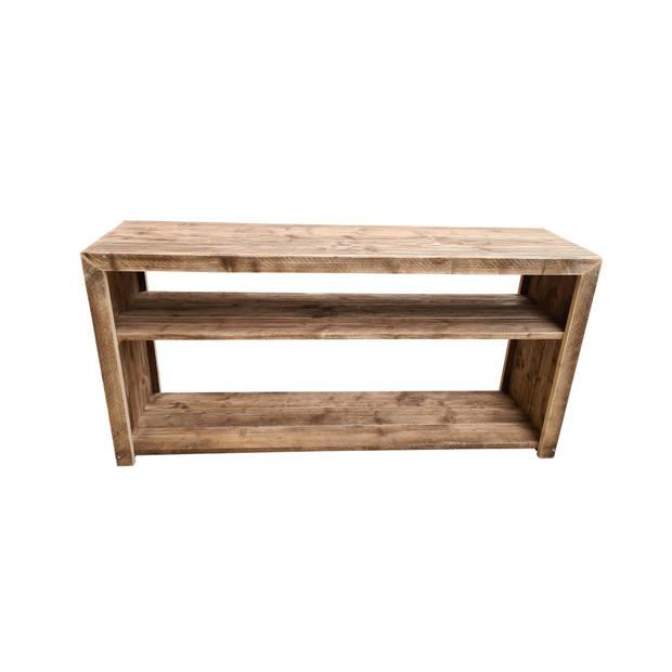 Wood4you - Sidetable Nice - Steigerhout - 180Lx78Hx38D