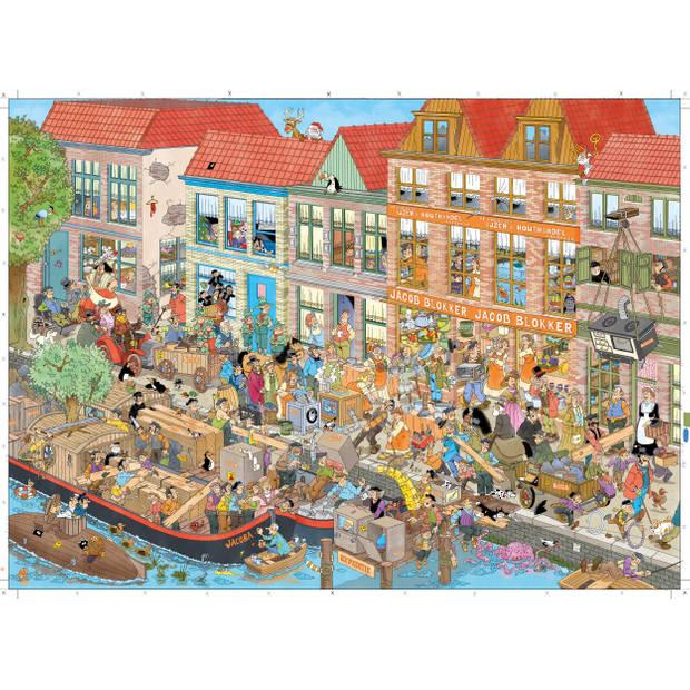 Jan van Haasteren Blokker 125 jaar 1000 stukjes