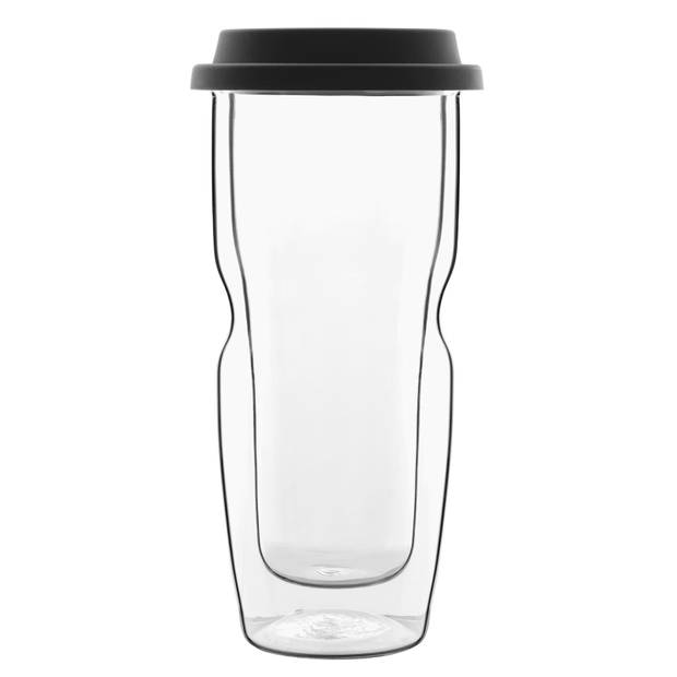 Bormioli Luigi - Thermic glass drink - Beker large Coffee on the Go