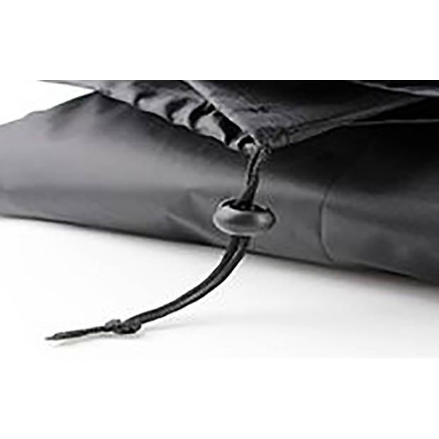 Parasolhoes voor zweefparasol 205 cm / Beschermhoes Boogparasol / Afdekhoes Boogparasol met rits Zwart / 205x57x40x25