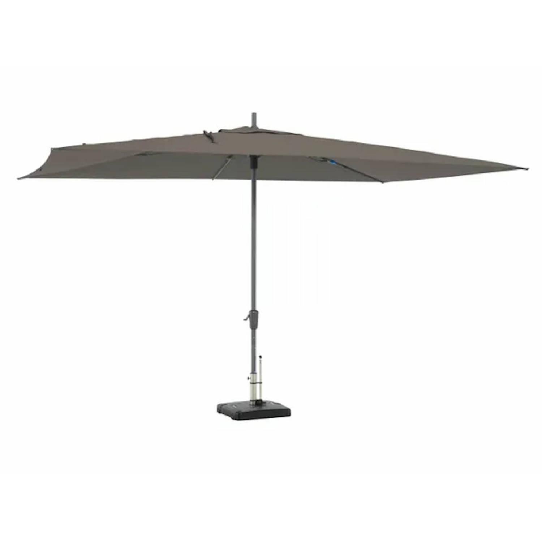 Madison Parasol Rectangle Grey 400 X 300 Cm