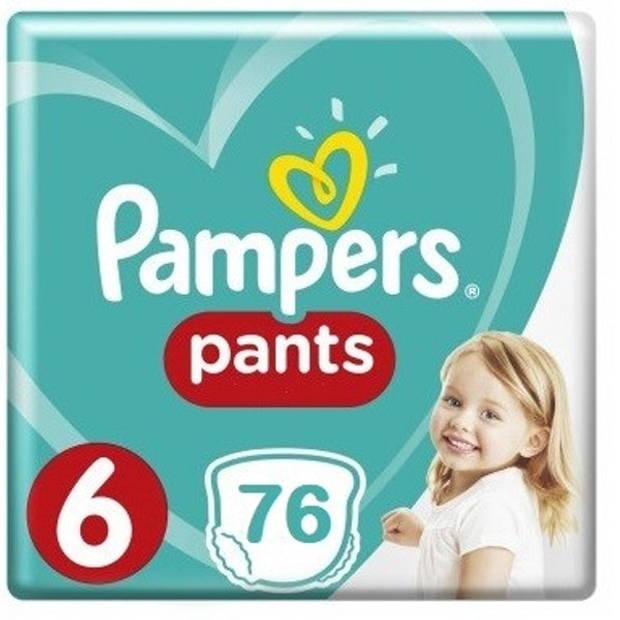 Pampers Luierbroekjes Baby Dry Nappy Pants Maat 6 (15+kg) - 76 broekjes