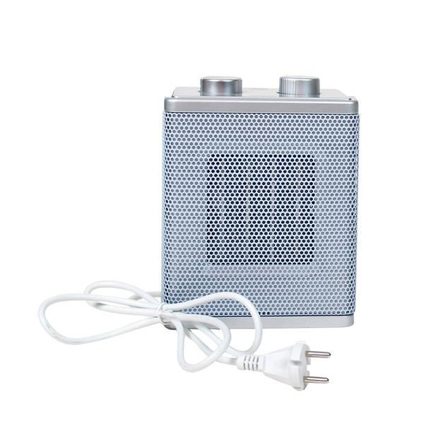 Gebor - Moderne Elektrische keramische kachel 1500W watt -Instelbare Thermostaat- Frisse lucht stand- Keramische