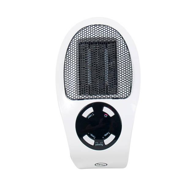 Gebor - Electrische Mini Verwarming - Stopcontact Heater – Praktische kachel - 500 watt – Handy Heater – 15 t/m