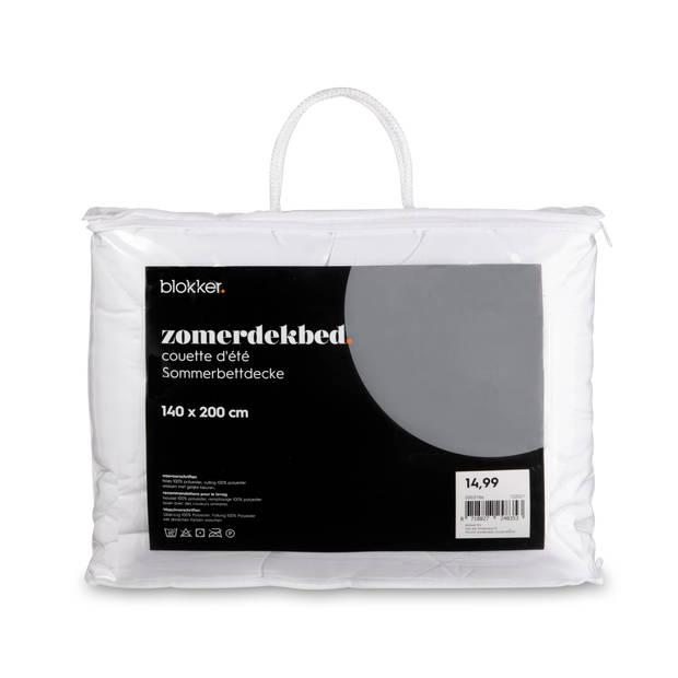 Blokker zomerdekbed - 140x200 cm