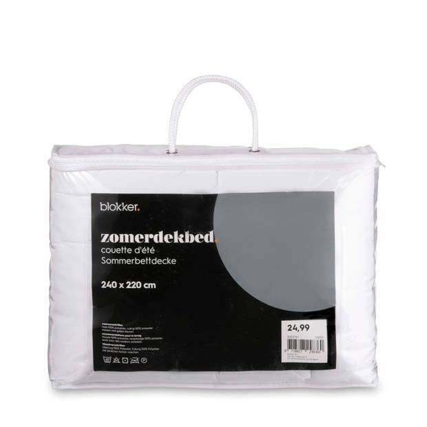 Blokker zomerdekbed - 240x220 cm