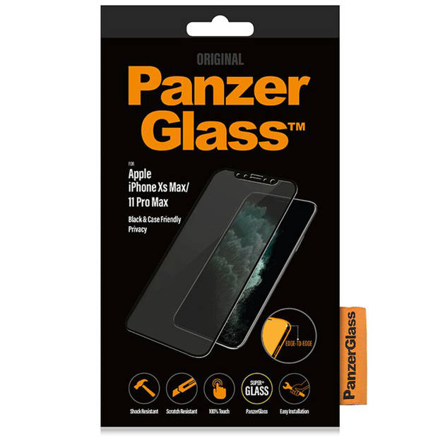 PanzerGlass Case Friendly Privacy Screenprotector voor iPhone 11 Pro Max / Xs Max