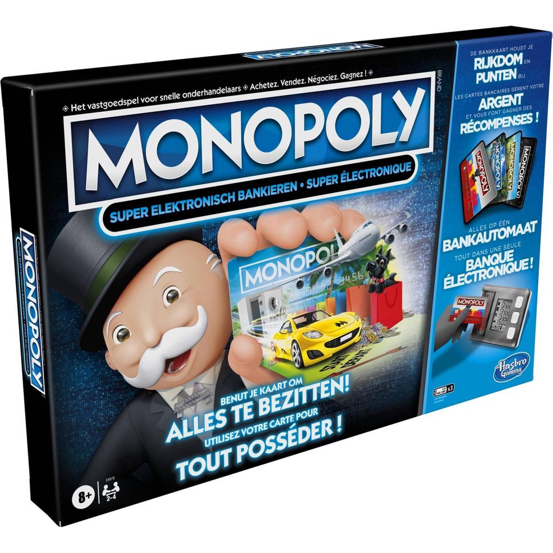 Hasbro Gaming Monopoly Super Elektronisch Bankieren