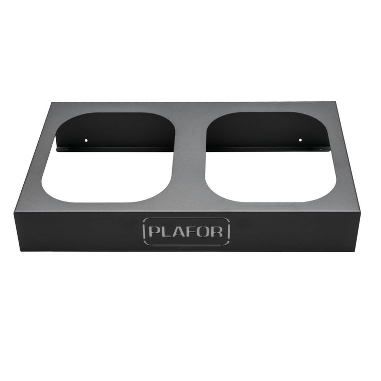 Plafor Prullenbak - Metal Base 2x45l