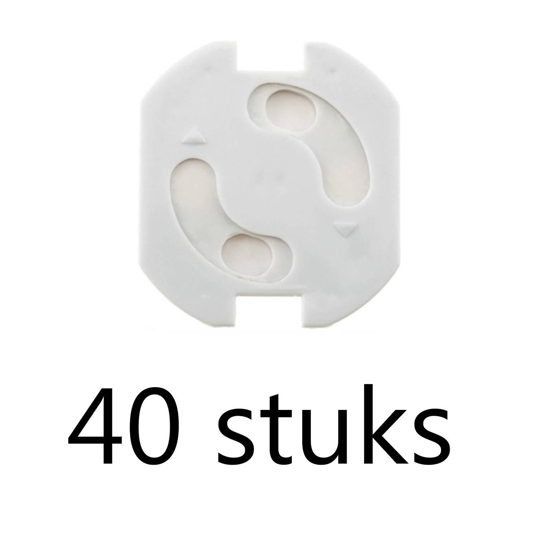 Korting Stopcontactbeschermer 40 Stuks Stopcontactbeveiliger Stopcontactbeveiling