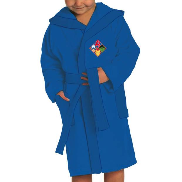 Marvel badjas Avengers jongens katoen blauw