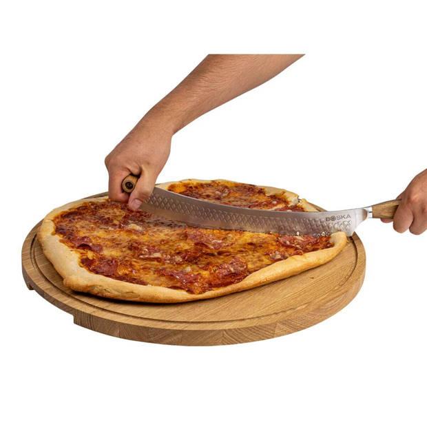 Boska Pizza & Kaasmes Oslo+ - Non-stick BSF™ - Eikenhout & RVS