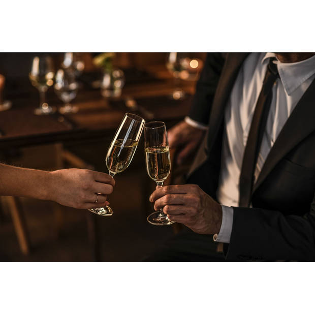 Schott Zwiesel Champagneglazen Banquet 21 cl - 6 Stuks