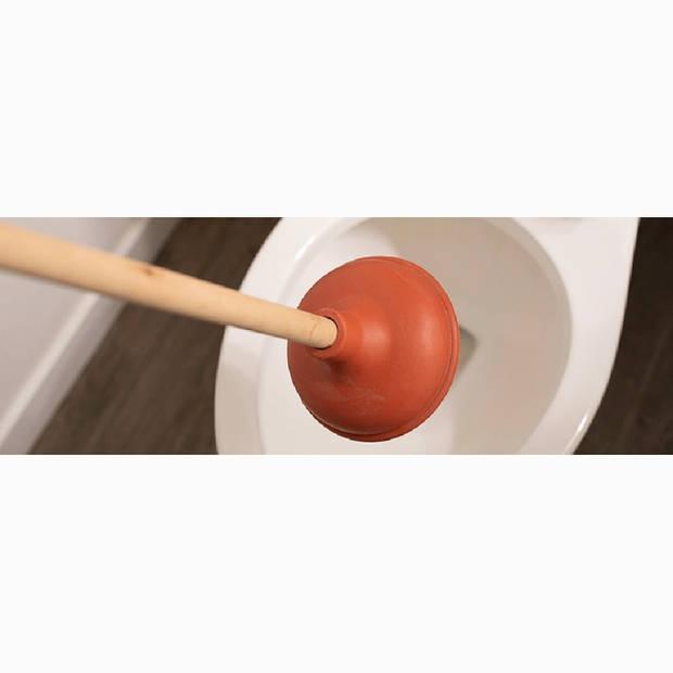 Betra rubberen ontstopper 41 cm - plopper met FSC houten steel