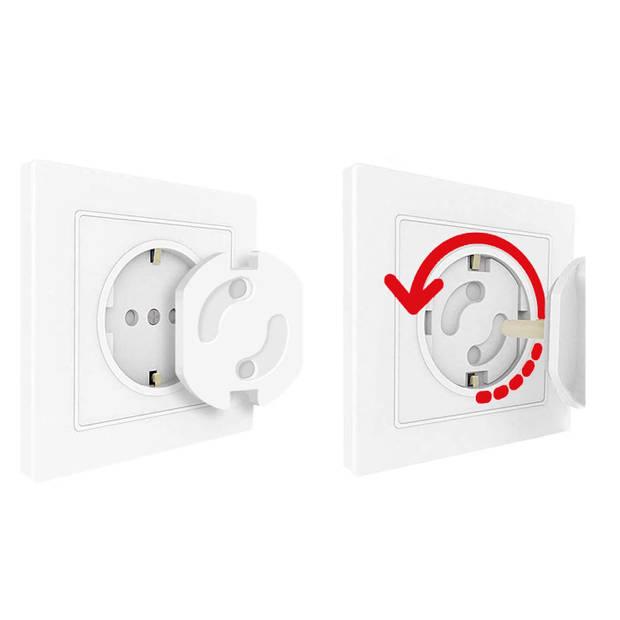 Stopcontactbeschermer 100 stuks (!) - stopcontactbeveiliger - stopcontactbeveiling