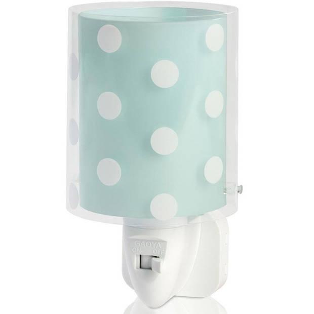 Starbright nachtlampje Stippen junior wit/blauw 230V