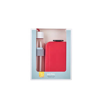 Korting Mepal Jubileumset Lunch On The Go Nordic Red