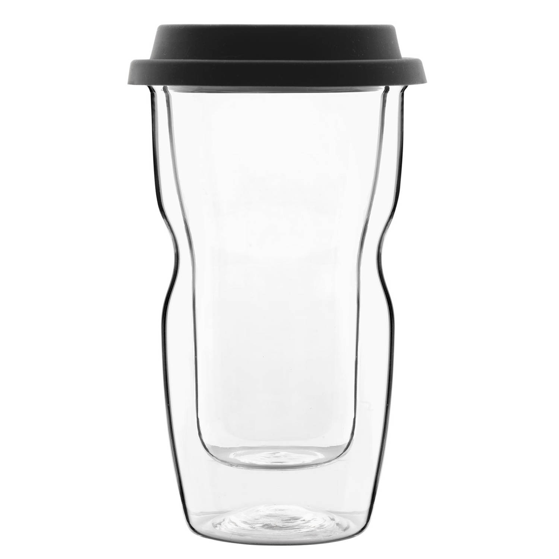 Bormioli Luigi - Thermic Glass Drink - Beker Small Coffee On The Go