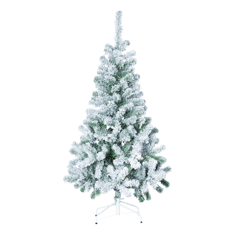 4Goodz besneeuwde kunstkerstboom 150 cm 95 cm breed